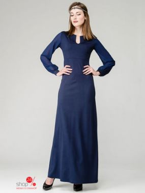 Платье Aerin, цвет синий
