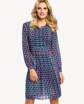 Платье POTIS&VERSO Мун 361J цвет синий