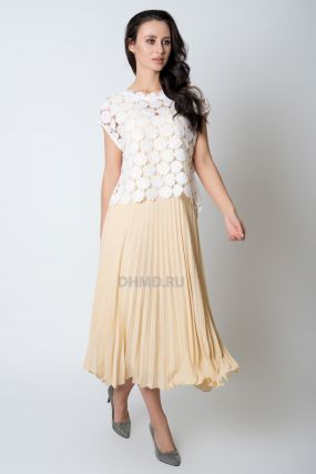Платье PAOLA COLLECTION 6556/01 цвет желтый