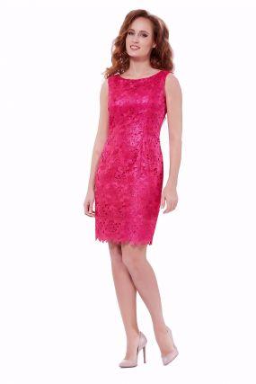 Платье POTIS&VERSO Кайли 323К цвет розовый