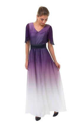 Платье LAME DE FEMME Рейнбоу 356L цвет фиолетовый