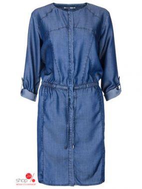 Платье Drywash, цвет синий
