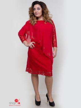 Платье Royal Fashion, цвет красный