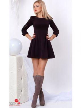 Платье S & L, цвет сливовый