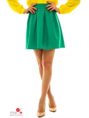 Юбка Look At Fashion, цвет зеленый