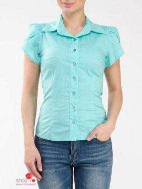 Рубашка Look At Fashion, цвет бирюзовый