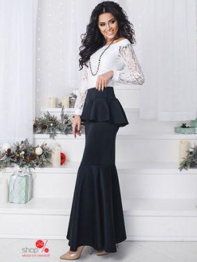 Юбка Nova Moda, цвет черный