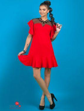 Платье Vision Fashion Store, цвет красный