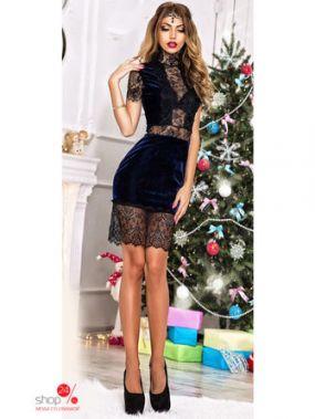 Платье Luxury, цвет темно-синий