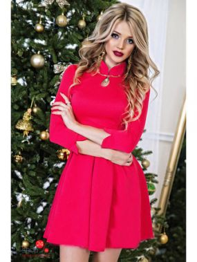 Платье Luxury, цвет коралловый