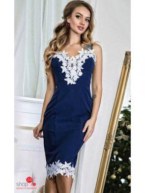 Платье Luxury, цвет синий
