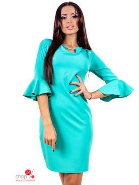 Платье COCOS, цвет ментоловый
