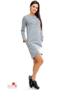 Платье ViSCOSE, цвет серый