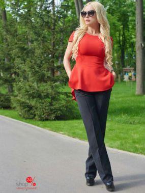 Туника Lux-look, цвет красный