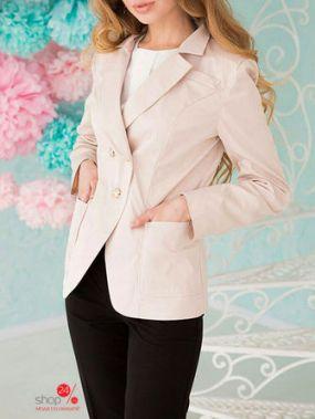 Пиджак Lux-look, цвет бежевый