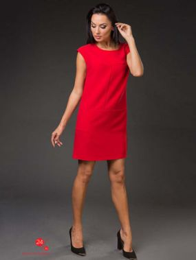 Платье VERONIKA MILTON, цвет красный