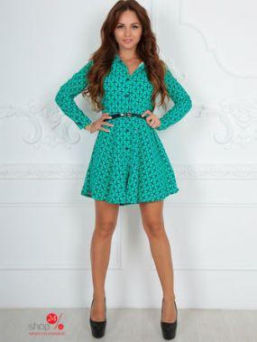 Платье Lovelies, цвет бирюзовый