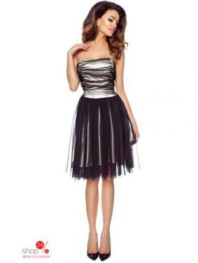 Платье KarteS-Moda, цвет бежевый
