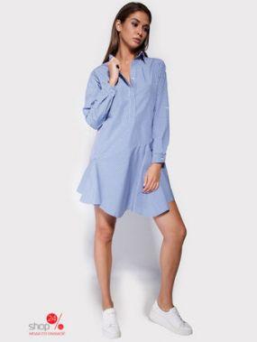 Платье Cardo, цвет синий, белый
