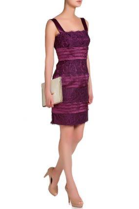 Кружевное платье на бретелях Patrizia Pepe
