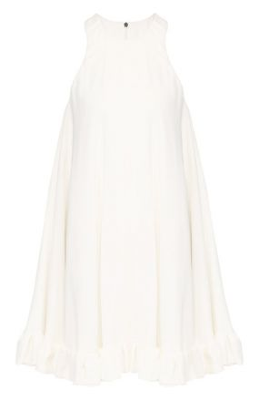Мини-платье из вискозы свободного кроя MSGM