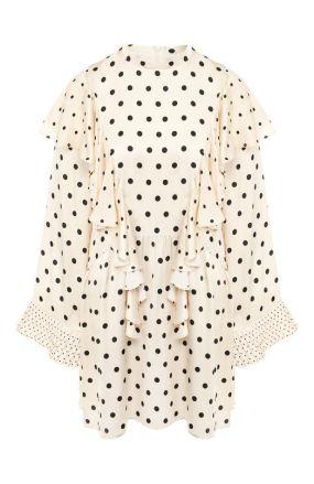 Мини-платье из вискозы Mother Of Pearl