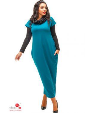 Платье STECLO, цвет бирюзовый