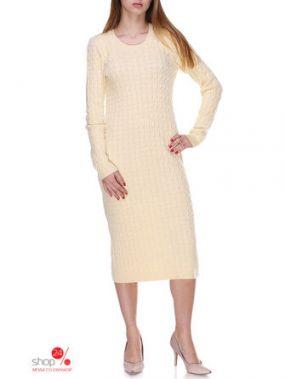 Платье Silena, цвет светло-желтый