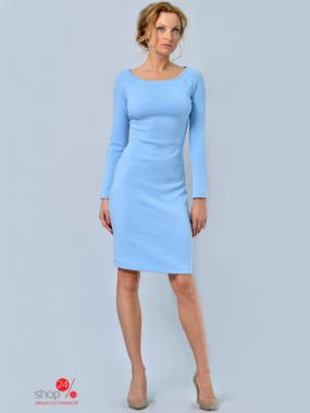 Платье LILA KASS, цвет голубой