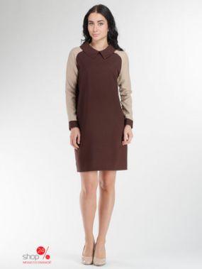 Платье Rocawear, цвет коричневый, бежевый
