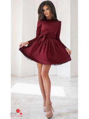 Платье Podium, цвет бордовый