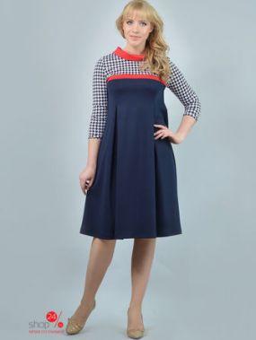 Платье ALIKA KRUSS, цвет темно-синий, красный