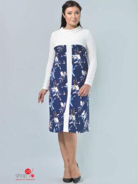 Платье ALIKA KRUSS, цвет синий, молочный