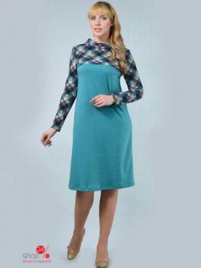 Платье ALIKA KRUSS, цвет бирюзовый, темно-синий