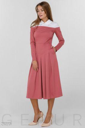 Элегантное платье-миди
