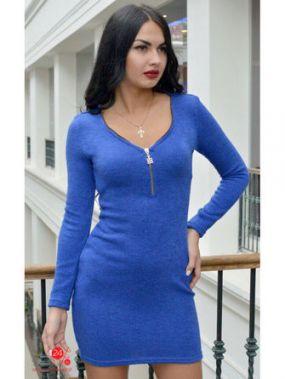 Платье Defile, цвет синий