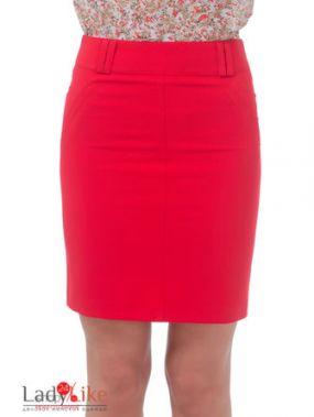 Юбка LadyLike, цвет красный