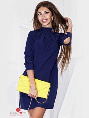 Платье ST-Style, цвет темно-синий