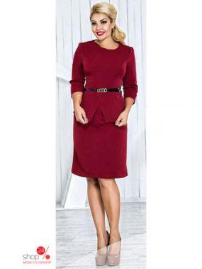 Платье ST-Style, цвет бордовый