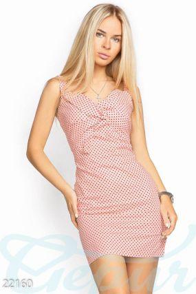 Облегающее хлопковое платье