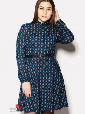 Платье NOMES, цвет темно-синий