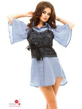 Платье Funky, цвет голубой
