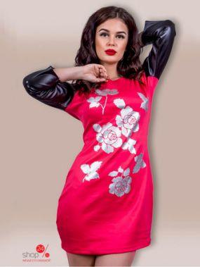 Платье COSMO, цвет красный