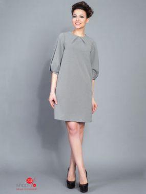 Платье BORODINA KSENIA, цвет черный, белый