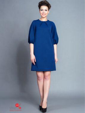Платье BORODINA KSENIA, цвет синий, черный