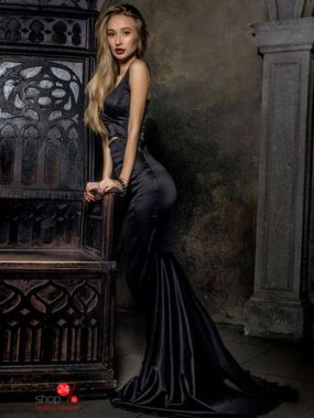 Юбка Lipinskaya Brand, цвет черный
