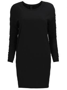 Платье-мини с драпировкой