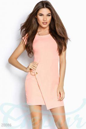 Оригинальное платье-мини