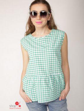 Топ Lavana Fashion, цвет зеленый, белый