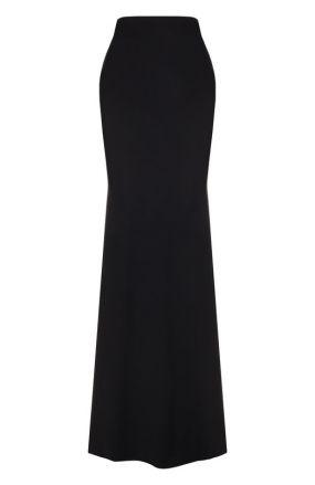 Однотонная расклешенная юбка-макси Alexander McQueen